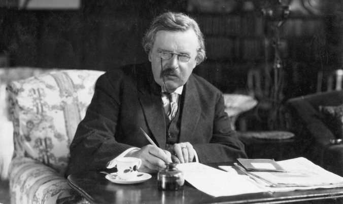 Did I say read more Chesterton? Yes, yes I did.